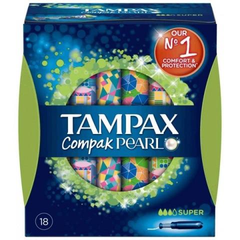 Tampax Pearl Compak Súper