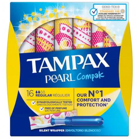 Tampax Pearl Compak Regular
