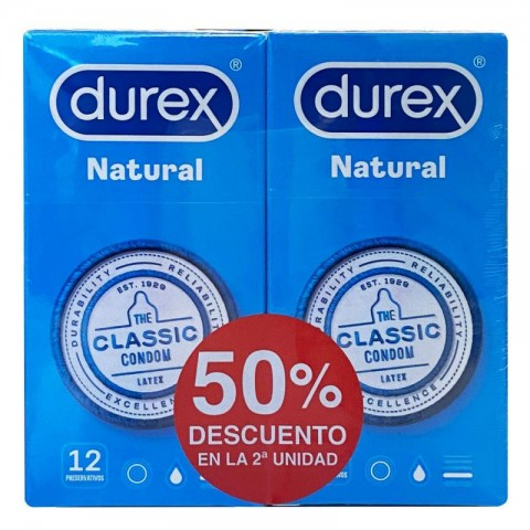 Durex Natural Duplo