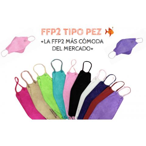 Mascarilla FFP2 Boca de pez